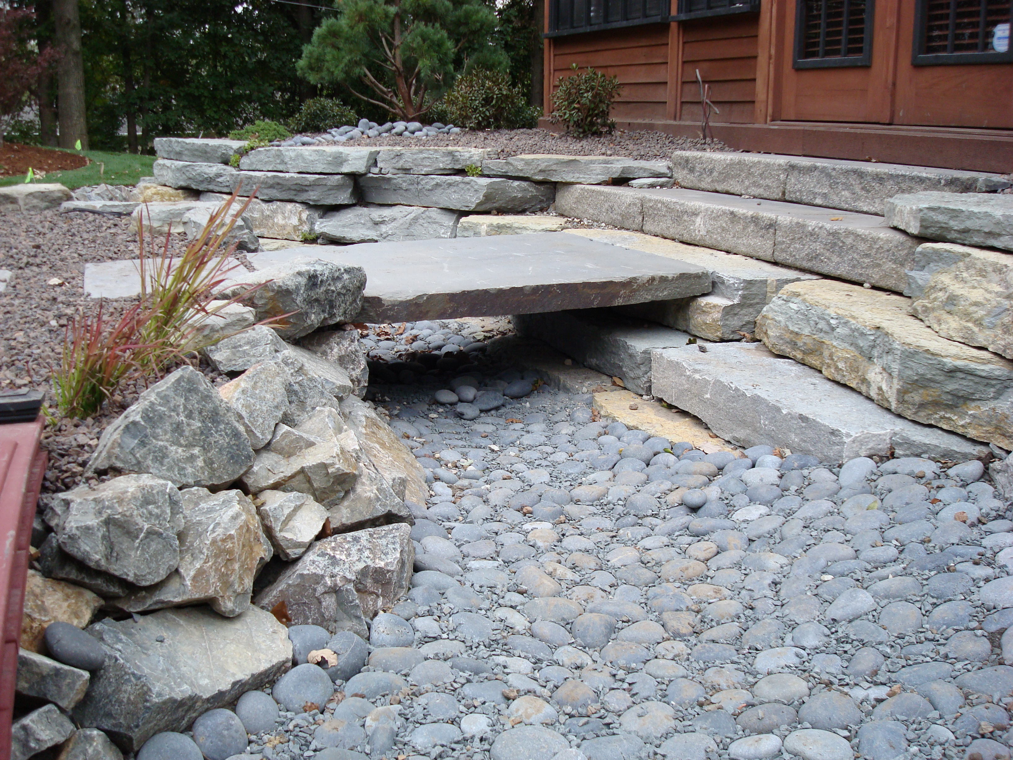 Backyard landscaping ideas on pinterest retaining walls for Dry garden designs
